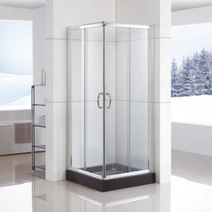6mm Tempred Glass Shower Enclosure (WS-C080) with Double-Side Easy Clean Nano Coating