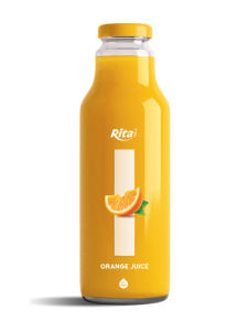 280ml Glass Bottle Orange Juice pictures & photos