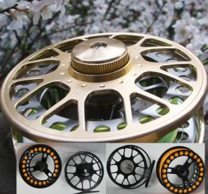 Fly Fishing Tackle - Large Arbor Fly Reel