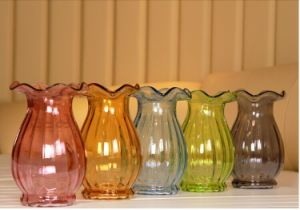 Hand Made Color Glass Vase
