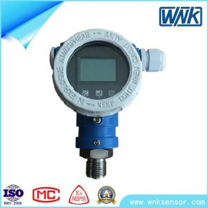 Intrinsic Safe Smart High Accuracy Pressure Transmitter with Local Display pictures & photos