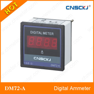 Dm72-a LED Display Digital Ammeter RS485 Communication