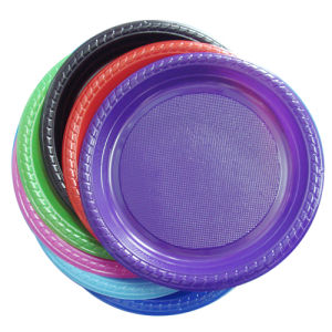 China Disposable Plastic Plate (9\