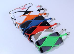 Eco-Friendly Universal Silicone Lanyard Phone Case Accessories