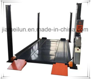 Hydraulic Four Post 8000lbs Parking Car Lift