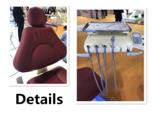 Aluminium Alloy Dental Chair Unit with New LED Sensor Lamp pictures & photos