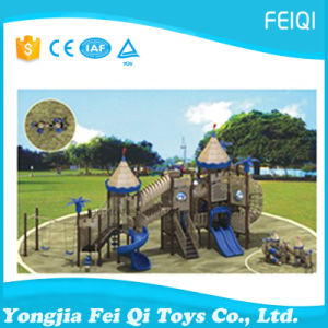 New Design Supplier Castle Playground Air to Slide Castle Series (FQ-CL0242)