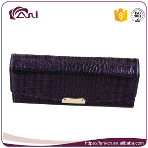 Best Wallet for Women, Genuine Ladies Wallet with Crocodile Grain, Cow Leather Purse pictures & photos