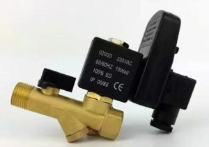 High Pressure Electronic Drain Valve with Timer
