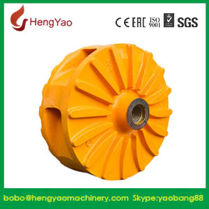 Impeller for Wear Resistant Slurry Pump