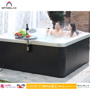 Cheap High Quality 5 Persons Outdoor Acrylic Whirlpools SPA Hot Tub pictures & photos
