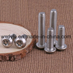 Stainless Steel 304 Torx Drive Anti-Theft Bolt pictures & photos