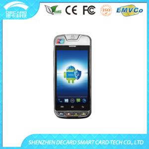 3G Touch Screen Android POS Terminal Support 2D Barcode, EMV Certified Card Reader (CP10)