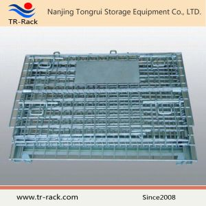 Stackable Steel Storage Galvanized Welded Wire Mesh Cage pictures & photos
