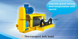 Sicoma Shaft Mounting Gearbox for Concrete Gravel Mining and Transportation