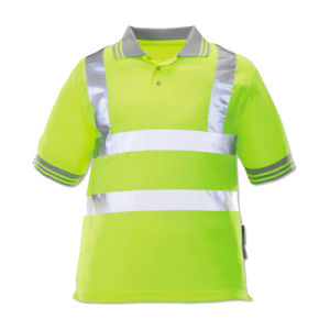 Reflective Strip High Visibility Safety T-Shirt of 100% Cotton pictures & photos