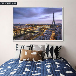Luxuriant City Vibe Oil Painting Print on Canvas