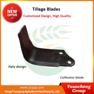 Italy Reclaim Tiller Blade Agriculture Rotary Tiller Blade Power Tiller Blade
