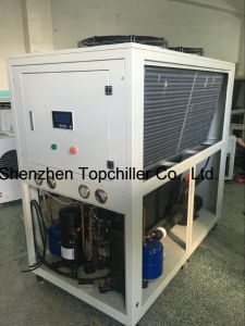 10kw-18kw (-10C) Air Cooled Glycol Water Cooled Chiller for Milk Cooling Process