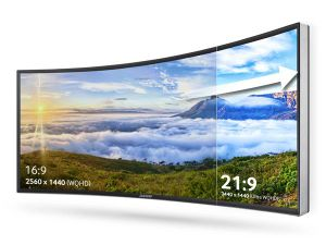 "150"" 16: 9 Curved Fixed Frame Screen, Cinema Projection Screens pictures & photos"