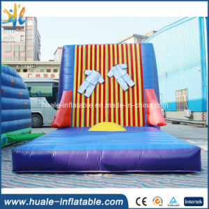 Outdoor Fun & Sports 2019 New Style Inflatable Stick Sticky Climbing Walls With Suit Pvc Inflatable Jumping Sticking Wall For Kids And Adults For Outdoor Event Inflatable Bouncers