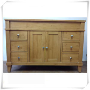 High Quality Bamboo Bathroom Vanity Cabinet pictures & photos