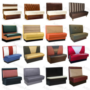 Leather Booth Seating Restaurant Sofa Jp Sf 175