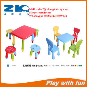 Hot Sale Plastic Table, Chair for Children pictures & photos