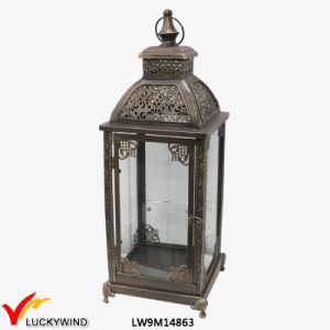 Glass Metal Iron Antique Moroccan Lantern pictures & photos
