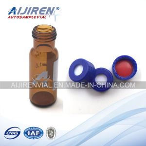 1.5ml Amber Glass Chemical Reagent Bottle 9mm Screw Thread Vial with Write-on Spot Suit for Agilent pictures & photos