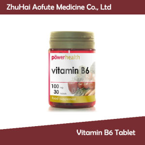 Hot Sale Vitamin B6 Tablet pictures & photos