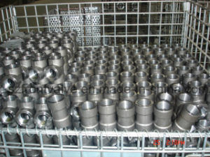 Forged Steel High Pressure Threaded/Sw Equal Tee pictures & photos