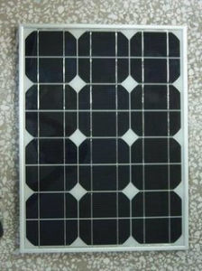 25W Monocrystalline Solar Panel PV Module with TUV Certificate