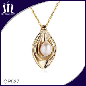 Op527 Vacuum Plated Natural Pearl Inlaid Jewelry Pendant pictures & photos