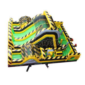 Toxic Inflatable Obstacle Course for Adults and Kids Chob1133