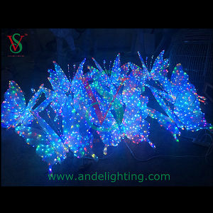 LED 3D Butterfly Motif Light Wedding Party Decoration