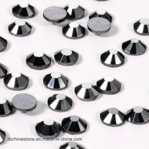 Brilliant Cut Jet Hematite Rhinestone for Wedding Dress Tri& Beads