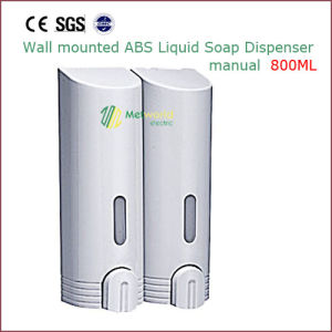 Manual ABS Wall Mounted Liquid Soap Dispenser 800ml pictures & photos