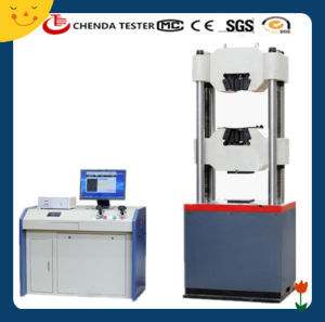 Waw-600d (Four columns) Computer Display Hydraulic Universal Testing Machine