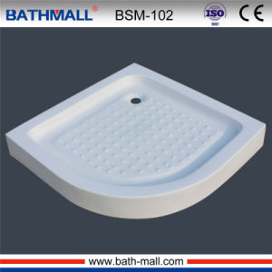 Hot Customize Plastic Shower Basin With Frame (BAM 102)
