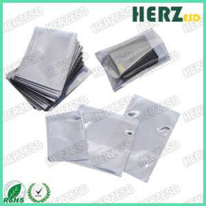 Customized ESD Transparent Antistatic Shielding Zip Lock Bag with Logo Printing