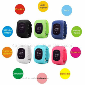 Time/Date Display Kids Safety GPS Tracker Watch with Sos Button Y2 pictures & photos
