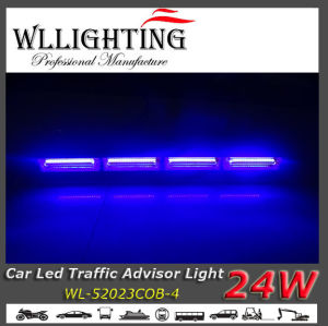 China blue color led mini grill light bar for police china traffic blue color led mini grill light bar for police aloadofball