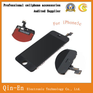for iPhone5C LCD with Touch Digitizer Screen with Metal Frame/for Any Colour/Original High Quality/Cell Phone LCD