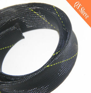 Flexible Expandable Braided Plastic Cable Sleeve pictures & photos