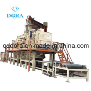 MDF Wood Flooring Production Line for Construction Company Used Woods