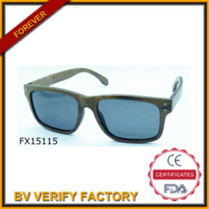 Trade Assurance Bamboo Sunglasses (FX15115) pictures & photos