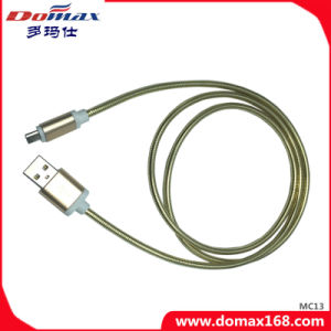 Mobile Phone Accessories USB Data Cable with Metal for iPhone pictures & photos