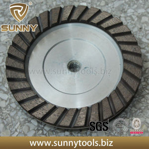 6 Inch Diamond Cup Grinding Wheel/Polishing Diamond Disc pictures & photos