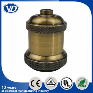 E26 Vintage Brass Bulb Holder Vd646